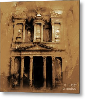 Petra Jordan Art Metal Print by Gull G