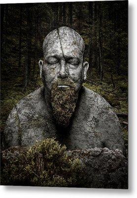 Petrified Metal Print by Petri Damsten