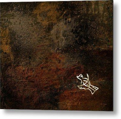 Petroglyph 5 Metal Print