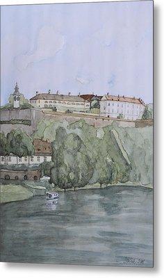 Petrovaradin Fortress Metal Print by Desimir Rodic