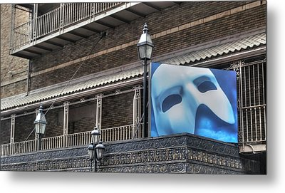 Phantom Of The Opera - Broadway Metal Print by Timothy Lowry