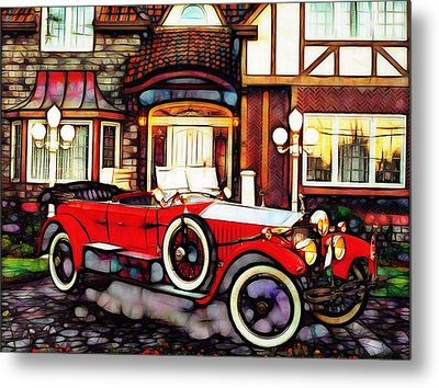 Phantom Rolls Royce 1935 Metal Print