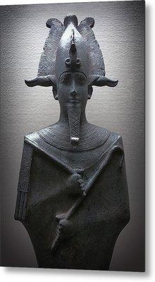 Pharaoh Of Egypt Metal Print by Daniel Hagerman