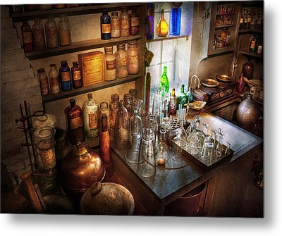 Pharmacist - A Little Bit Of Witch Craft Metal Print by Mike Savad