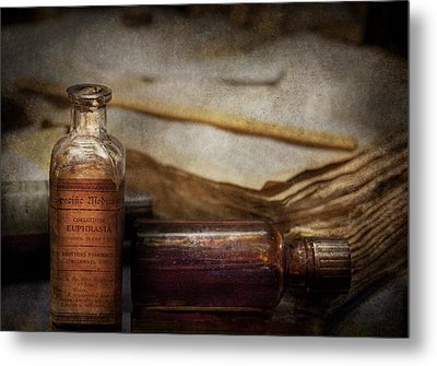 Pharmacist - Specific Medicines  Metal Print by Mike Savad