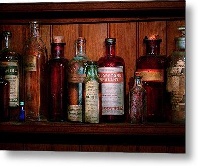Pharmacy -  Oils And Inhalants Metal Print by Mike Savad