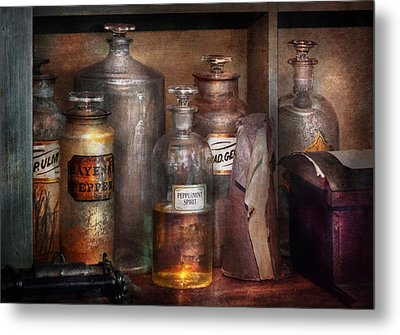 Pharmacy - That's The Spirit Metal Print by Mike Savad