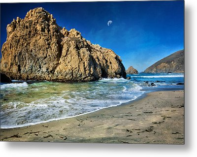 Pheiffer Beach - Keyhole Rock #10- Big Sur California Metal Print by Jennifer Rondinelli Reilly - Fine Art Photography