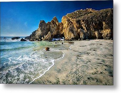 Pheiffer Beach #5 - Big Sur California Metal Print