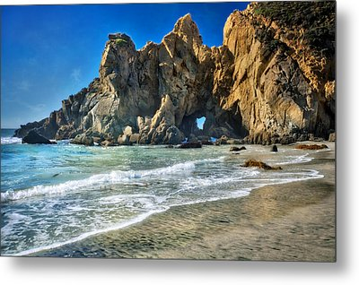 Pheiffer Beach #6 - Big Sur California Metal Print by Jennifer Rondinelli Reilly - Fine Art Photography