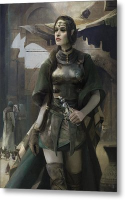 Phial Metal Print by Eve Ventrue