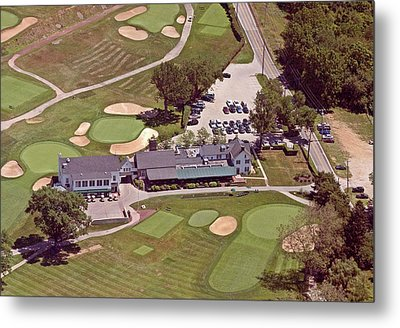 Philadelphia Cricket Club Flourtown Clubhouse 6075 W Valley Green Rd  Flourtown Pa  19031 Metal Print by Duncan Pearson