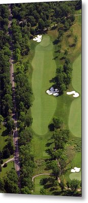 Metal Print featuring the photograph Philadelphia Cricket Club Militia Hill Golf Course 13th Hole by Duncan Pearson
