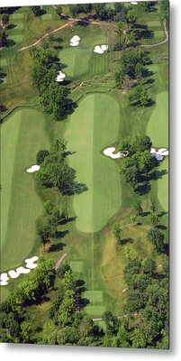 Metal Print featuring the photograph Philadelphia Cricket Club Militia Hill Golf Course 14th Hole by Duncan Pearson