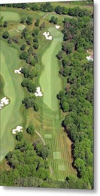 Philadelphia Cricket Club Militia Hill Golf Course 7th Hole Metal Print by Duncan Pearson