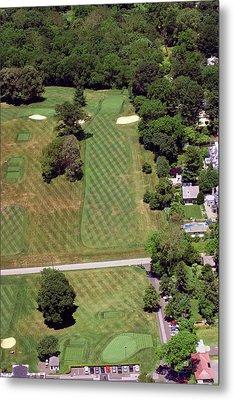 Philadelphia Cricket Club St Martins Golf Course 1st Hole 415 W Willow Grove Avenue Phila Pa 19118 Metal Print by Duncan Pearson