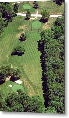 Philadelphia Cricket Club St Martins Golf Course 6th Hole 415 West Willow Grove Ave Phila Pa 191118 Metal Print by Duncan Pearson