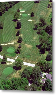 Philadelphia Cricket Club St Martins Golf Course 7th Hole 415 W Willow Grove Ave Phila Pa 19118 Metal Print by Duncan Pearson