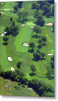 Philadelphia Cricket Club Wissahickon Golf Course 13th Hole Metal Print by Duncan Pearson