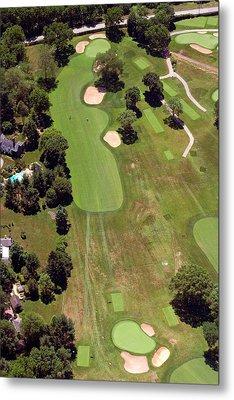 Philadelphia Cricket Club Wissahickon Golf Course 6th Hole Metal Print by Duncan Pearson