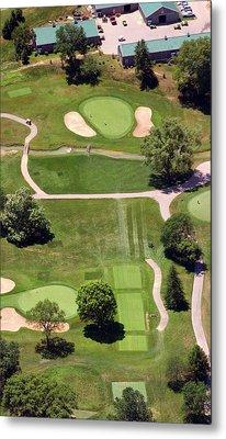 Philadelphia Cricket Club Wissahickon Golf Course 8th Hole Metal Print by Duncan Pearson