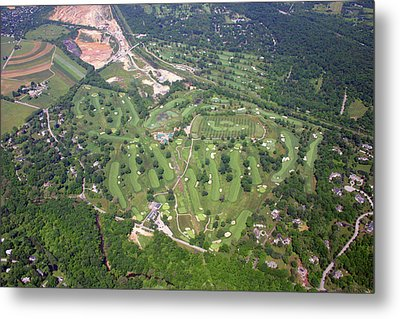 Metal Print featuring the photograph Philadelphia Cricket Club Wissahickon Golf Course Flourtown by Duncan Pearson
