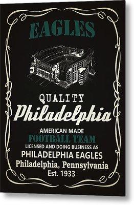 Philadelphia Eagles Whiskey Metal Print