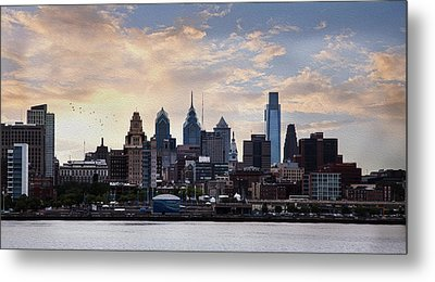 Philadelphia Metal Print by John Rivera