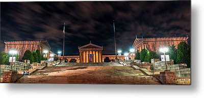 Metal Print featuring the photograph Philadelphia Museum Of Art by Marvin Spates