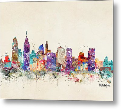 Philadelphia Pennsylvania  Metal Print by Bri B