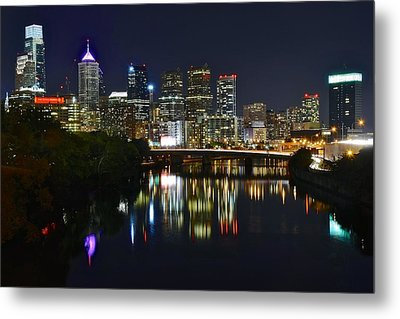Philadelphia Pennsylvania Metal Print by Frozen in Time Fine Art Photography