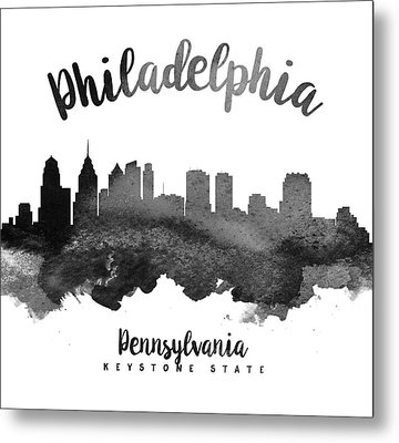 Philadelphia Pennsylvania Skyline 18 Metal Print