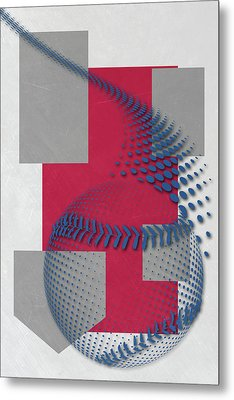 Philadephia Phillies Art Metal Print by Joe Hamilton