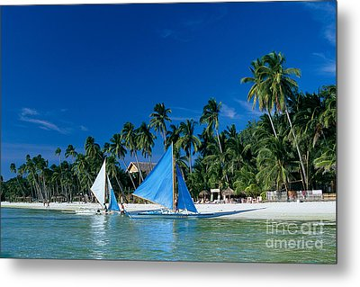 Philippines, Boracay Isla Metal Print by Gloria & Richard Maschmeyer - Printscapes