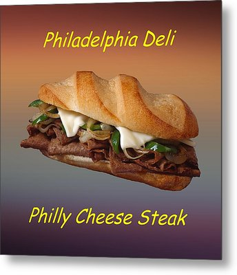 Philly Cheese Steak Customized  Metal Print by Movie Poster Prints