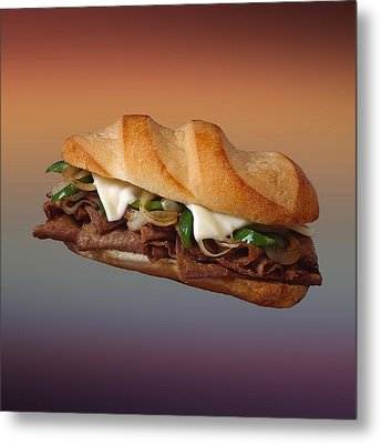 Philly Cheese Steak  Metal Print by Movie Poster Prints