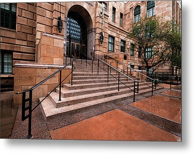 Metal Print featuring the photograph Phoenix Arizona Courthouse by Dave Dilli