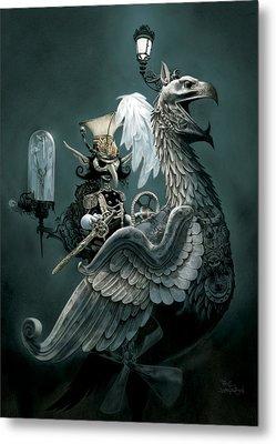 Phoenix Goblineer Metal Print by Paul Davidson