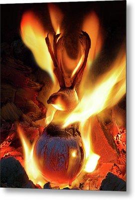 Phoenix Metal Print by Jerry LoFaro