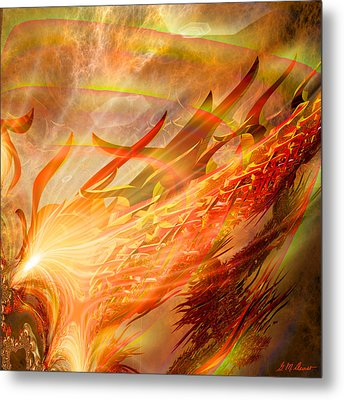 Phoenix Metal Print by Michael Durst