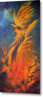 Phoenix Rising 1 Metal Print by Marina Petro