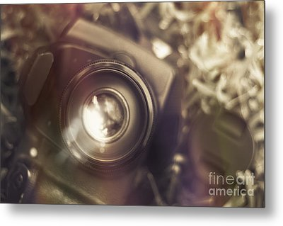 Photographic Lens Reflections Metal Print by Jorgo Photography - Wall Art Gallery
