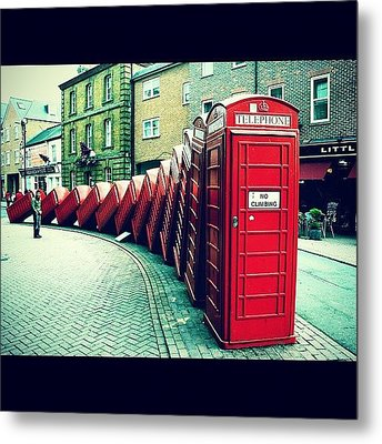 #photooftheday #london #british Metal Print