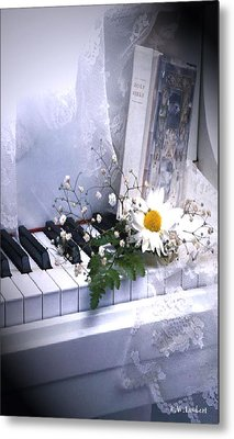 Piano Metal Print by Kenneth Lambert