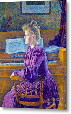 Piano Player 1921 Metal Print