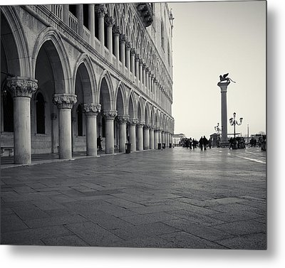 Piazza San Marco, Venice, Italy Metal Print