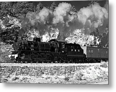 Metal Print featuring the photograph Pichi Richi Railwaytrain by Bill  Robinson