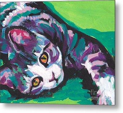 Pick Up The Tab Metal Print by Lea S