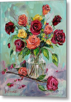 Metal Print featuring the painting Picked For You by Jennifer Beaudet