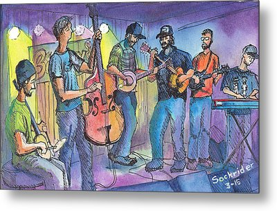 Pickin On Phish At Barkleys Metal Print